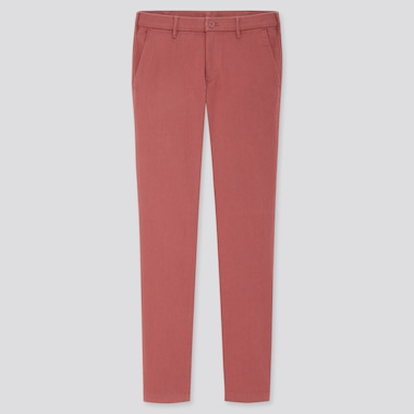 Men Cotton Stretch Skinny Fit Chino Trousers