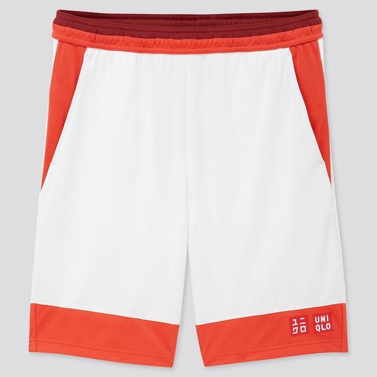 Men Dry Shorts (Kei Nishikori 20aus), White, Large