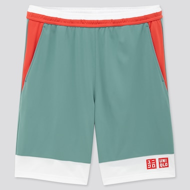 Men Dry Shorts (Kei Nishikori 20aus), Blue, Medium