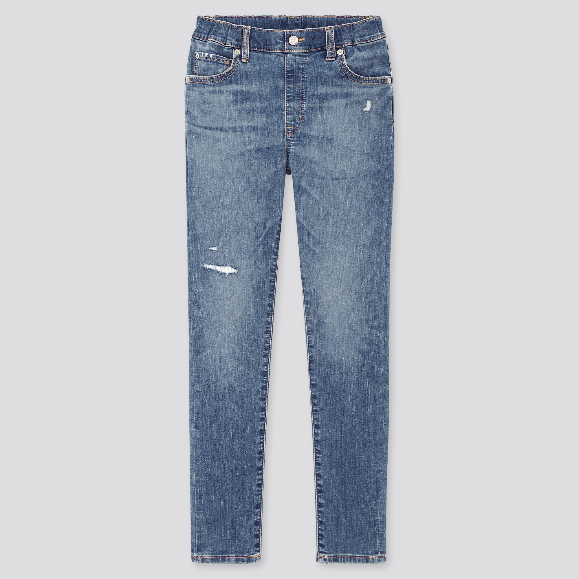 Chicco Baby-Jungen Pantaloni Lunghi Denim Stretch Jeans