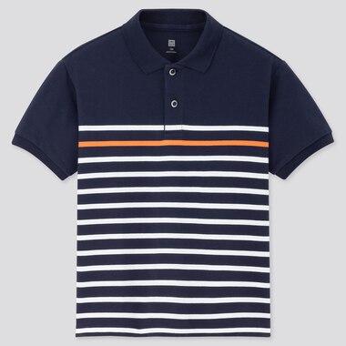 Kinder kurzärmliges DRY Piqué-Poloshirt