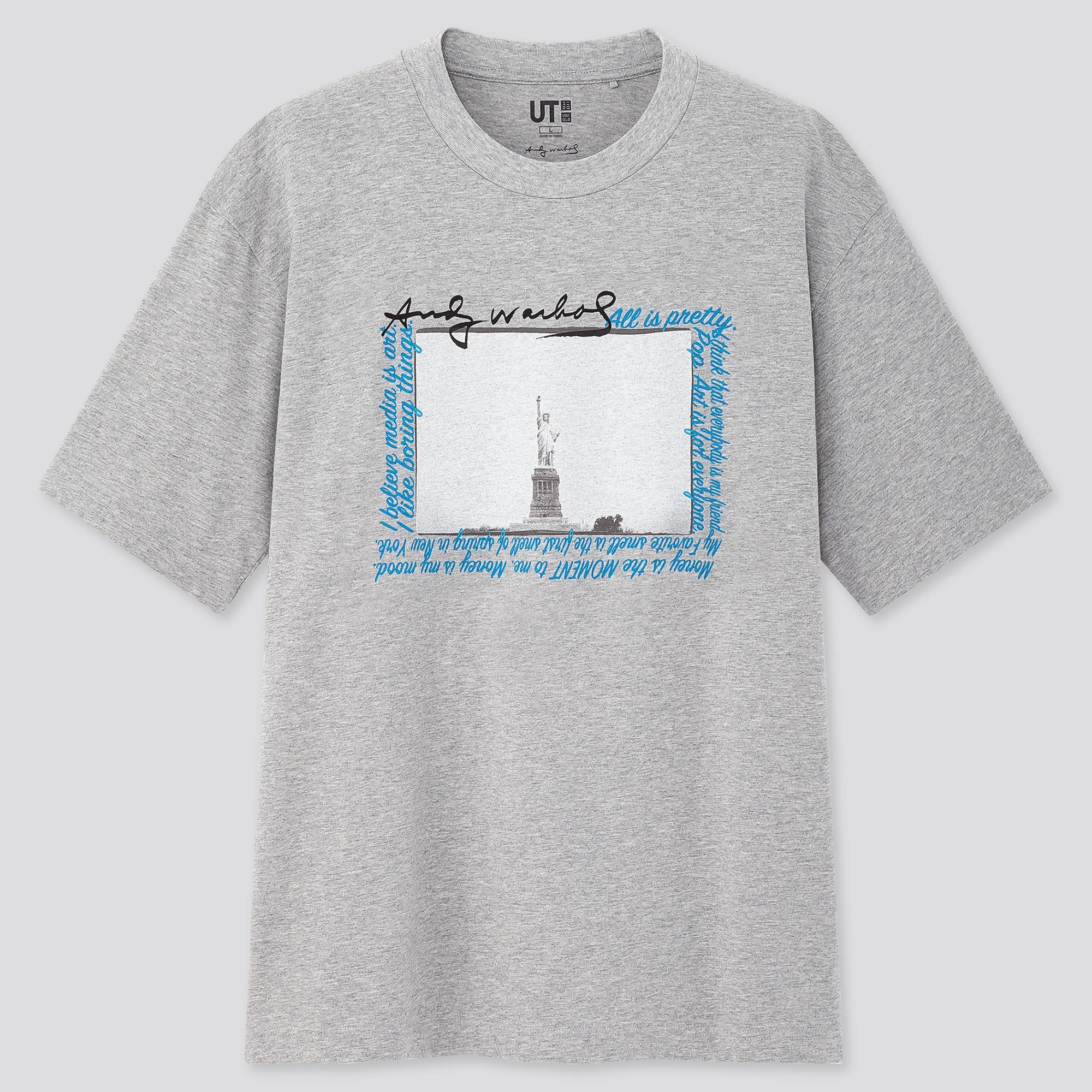 Men Andy Warhol UT Graphic T-Shirt
