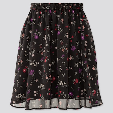Girls Joy Of Print Chiffon Skirt