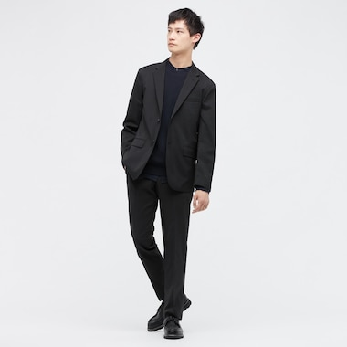 Men Kando Jacket (Wool-Like), Black, Medium