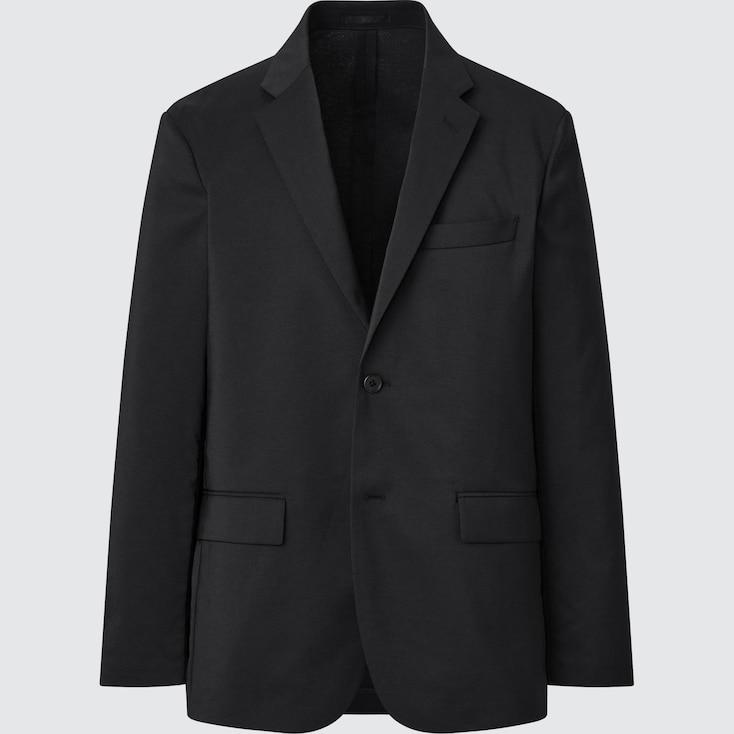 Men Kando Jacket (Wool-Like), Black, Large