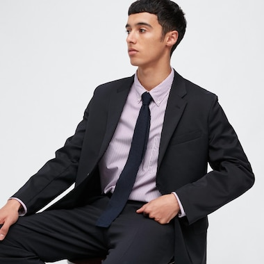 Men Kando Jacket (Wool-Like), Navy, Medium