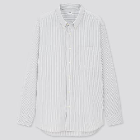 Herren Gestreiftes Oxford Hemd (Regular Fit)