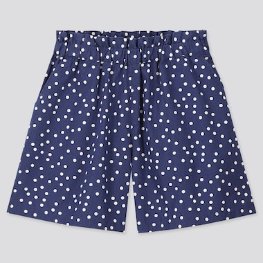 Girls Easy Shorts, Blue, Medium