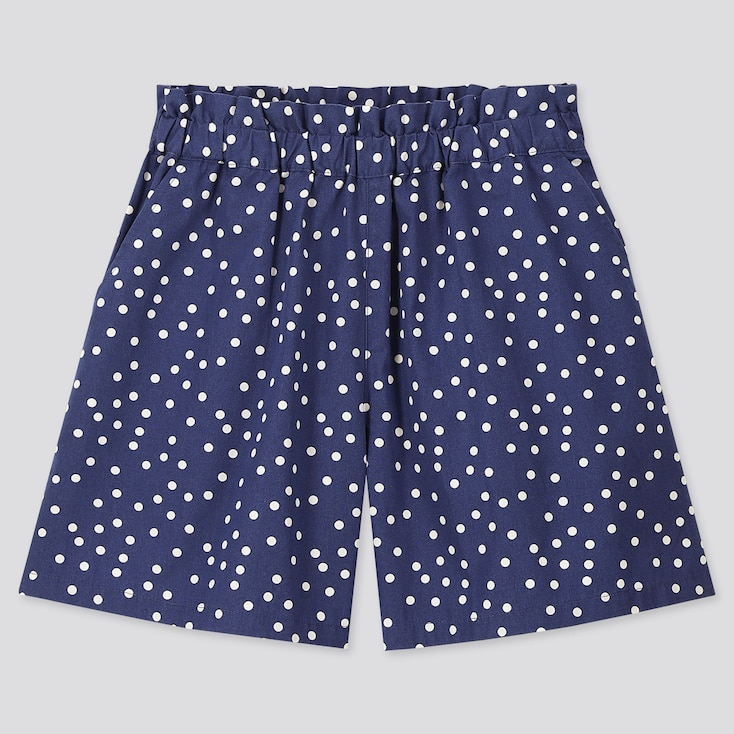 Girls Easy Shorts, Blue, Large