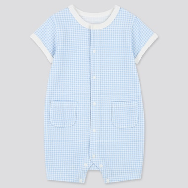 Newborn Shortalls, Blue, Medium