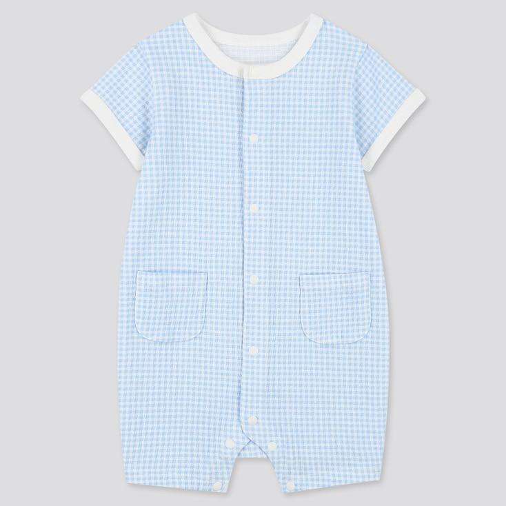 Newborn Shortalls, Blue, Large