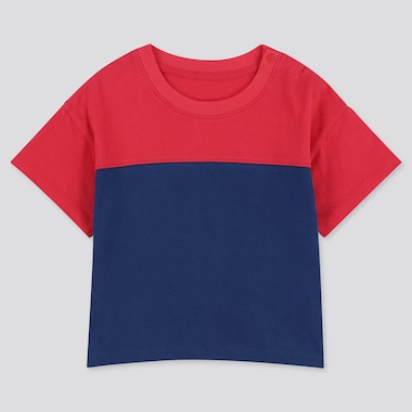 Toddler Crew Neck Short-Sleeve T-Shirt, Red, Medium