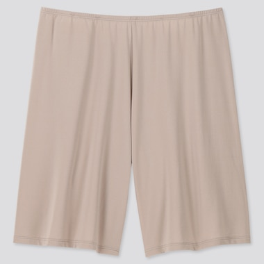 Women Airism Petti Shorts, Khaki, Medium