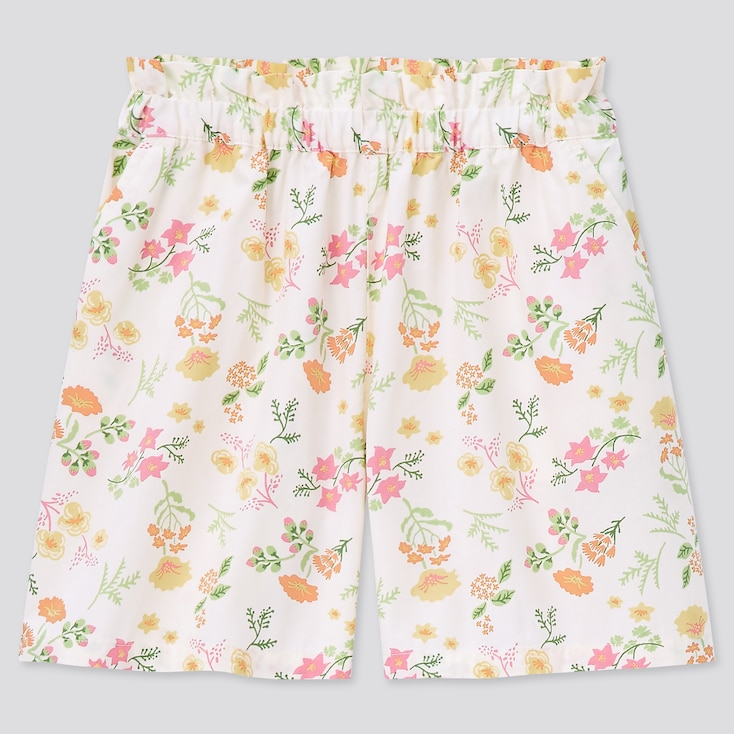 Girls Easy Shorts, Natural, Large