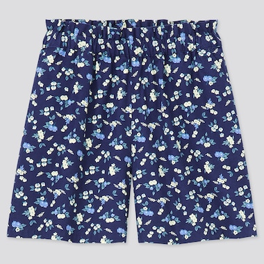 Girls Easy Shorts, Navy, Medium