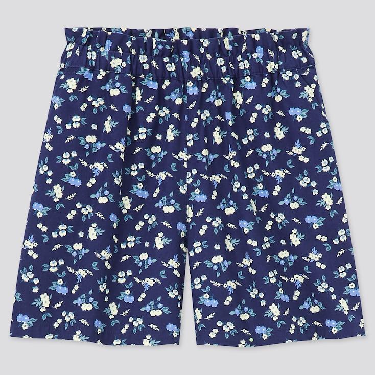 Girls Easy Shorts, Navy, Large