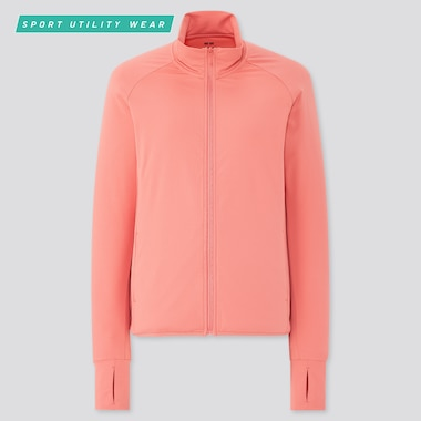 Women AIRism UV Protection Mesh Long Sleeved Zipped Jacket