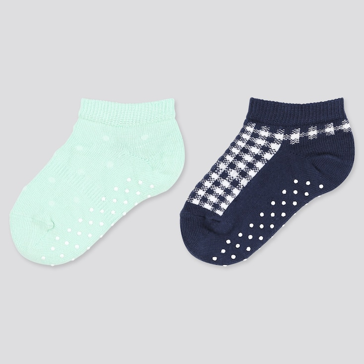 Baby Socks (2 Pairs), Green, Large
