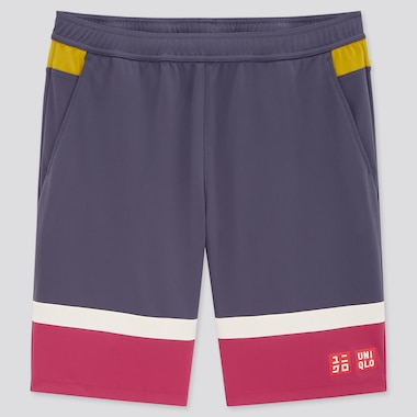 Men Dry Shorts (Kei Nishikori 20fra), Dark Gray, Medium