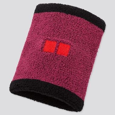 Tennis Wristband (Kei Nishikori 20fra), Pink, Medium