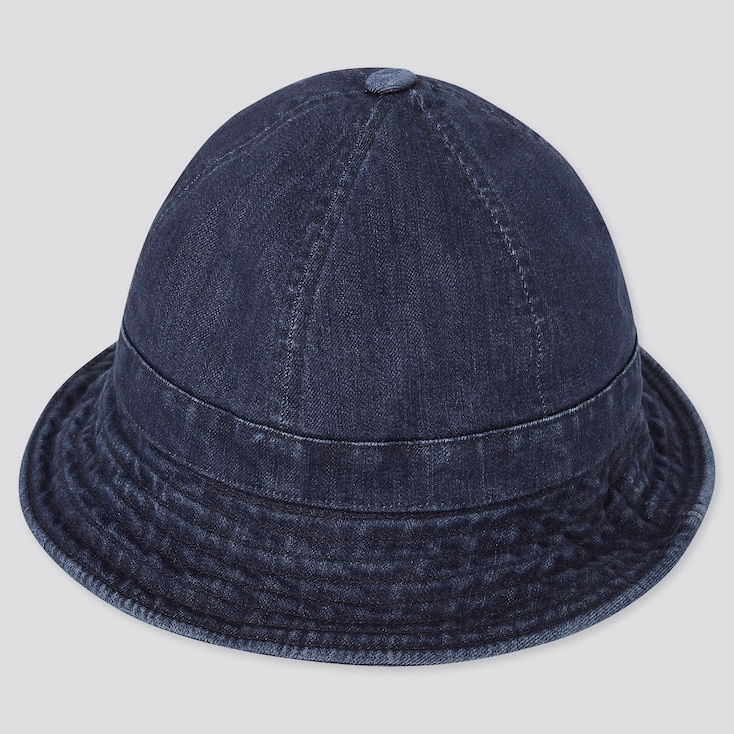 Uv Protection Denim Hat, Blue, Large