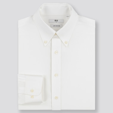 MEN SUPER NON-IRON REGULAR FIT SHIRT (BUTTON-DOWN COLLAR)