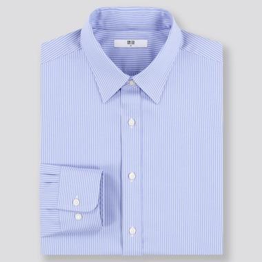 Chemise Entretien Facile à Rayures Coupe Regular Col Classique Homme