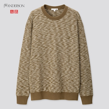 Men Long-Sleeve Sweatshirt (Jw Anderson), Olive, Medium