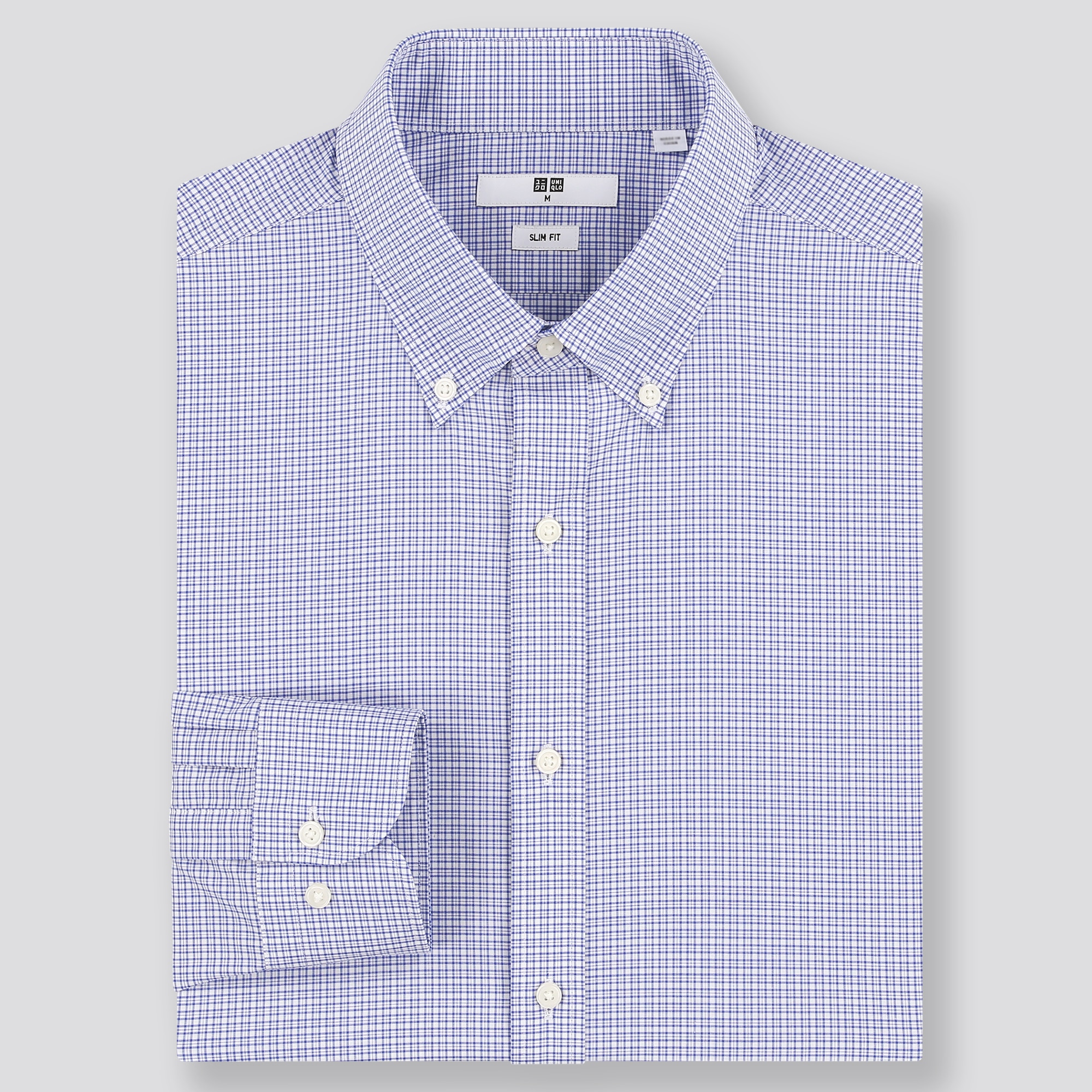 Clothe Co Mens Short Sleeve Wrinkle Resistant Easy Care Button Up Shirt