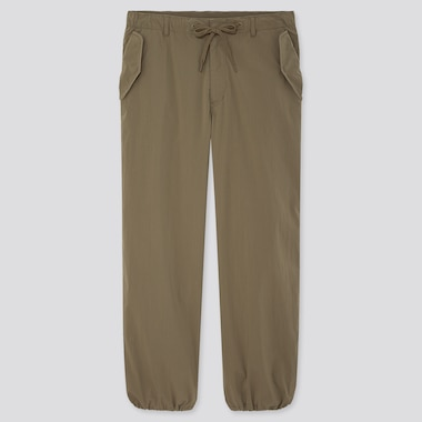 Men Ezy Wide-Fit Parachute Jogger Pants (Online Exclusive), Olive, Medium