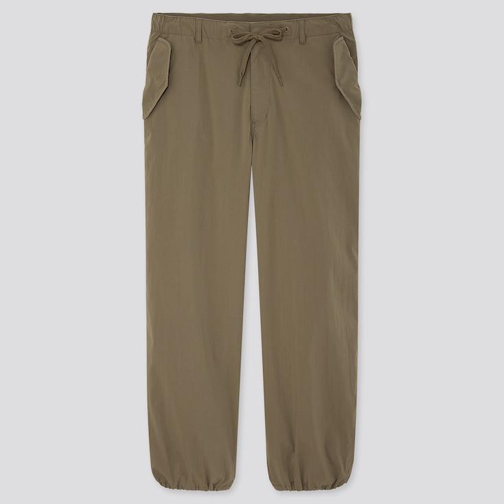 "Men Ezy Wide-Fit Parachute Jogger Pants (Tall 31"") (Online Exclusive), Olive, Large"