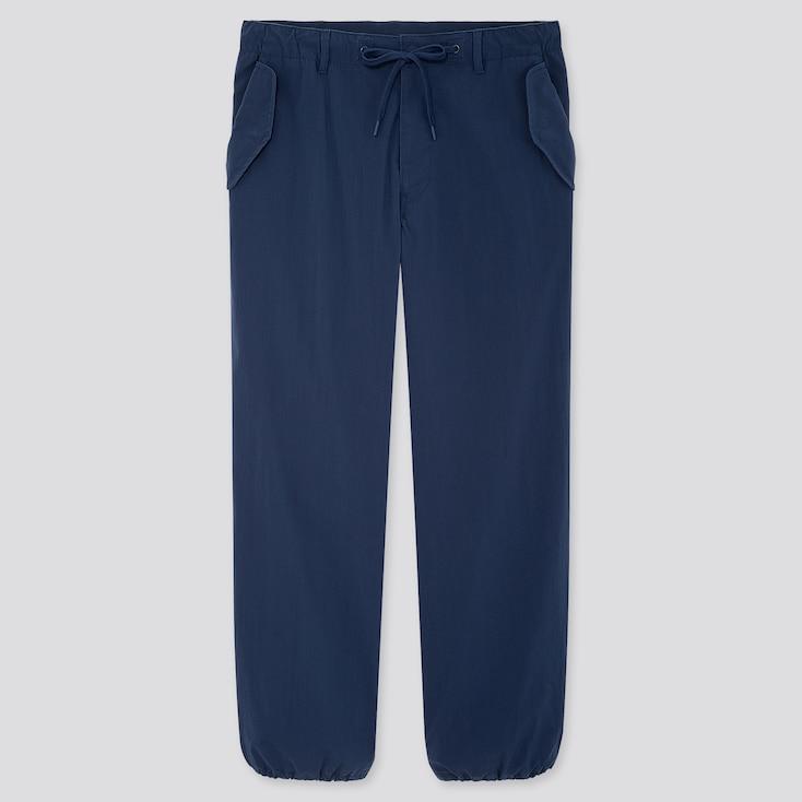 """Men Ezy Wide-Fit Parachute Jogger Pants (Tall 31"""") (Online Exclusive), Blue, Large"""