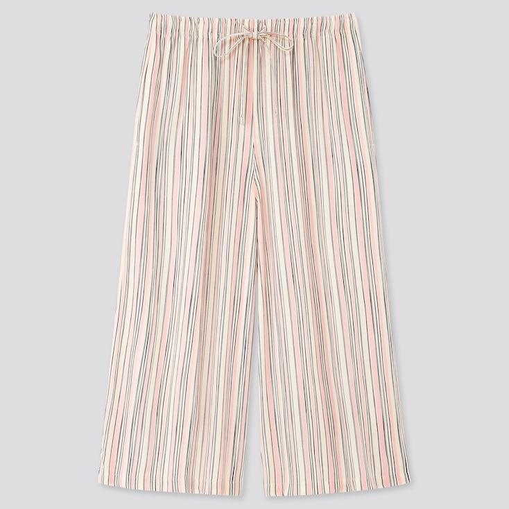 Women Joy Of Print Relaco 3/4 Shorts, Pink, Large