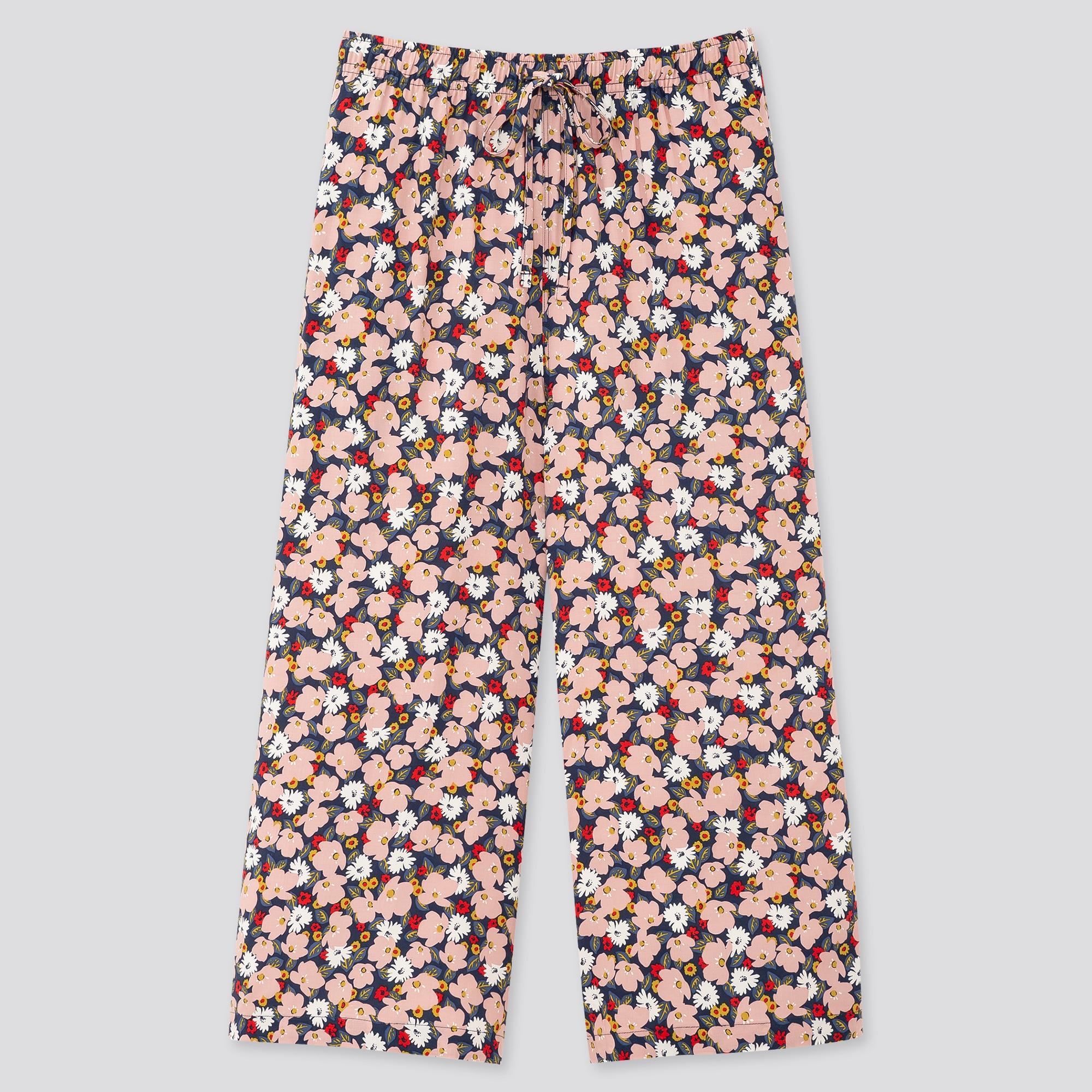 Women Joy of Print Relaco Wide Fit 3/4 Length Shorts