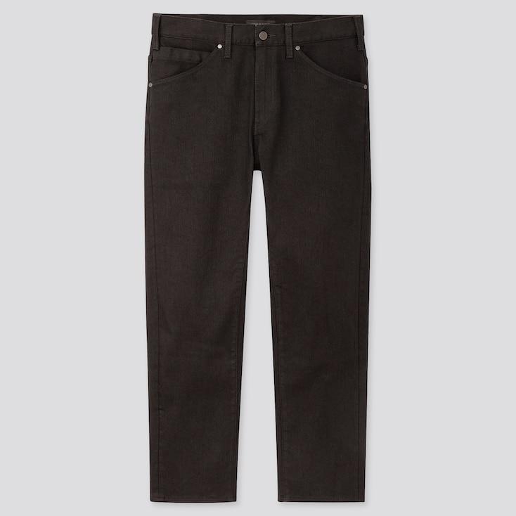 Men Ultra Light 3d Jeans, Black, Large