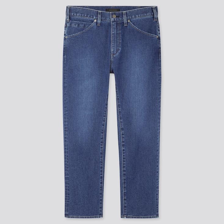 Men Ultra Light 3d Jeans, Blue, Large