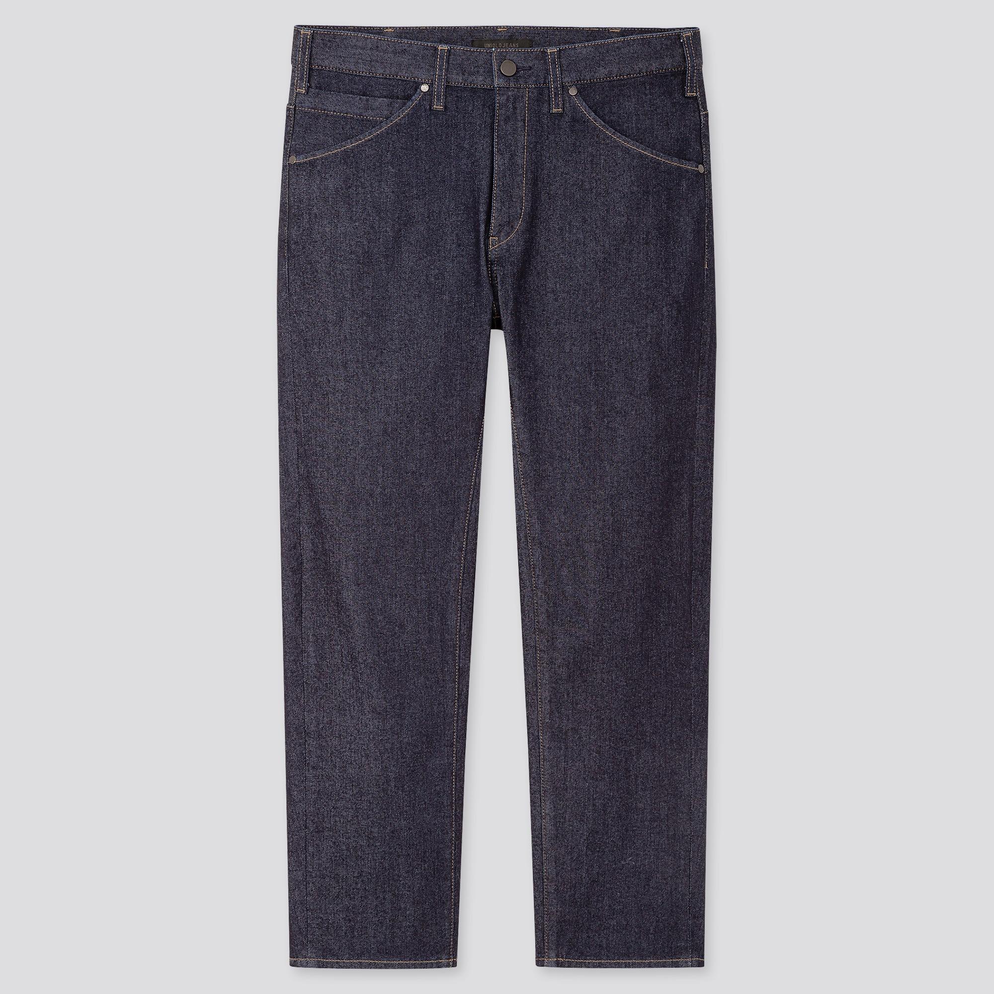 Men Ultra Light 3D Regular Fit Tapered Jeans
