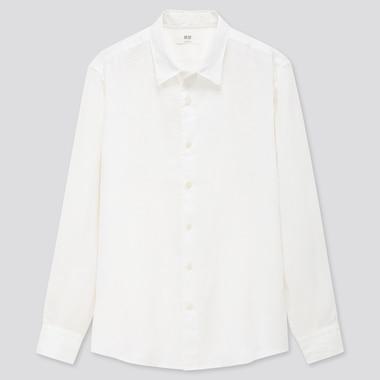 Men 100% Premium Linen Regular Fit Shirt (Regular Collar)