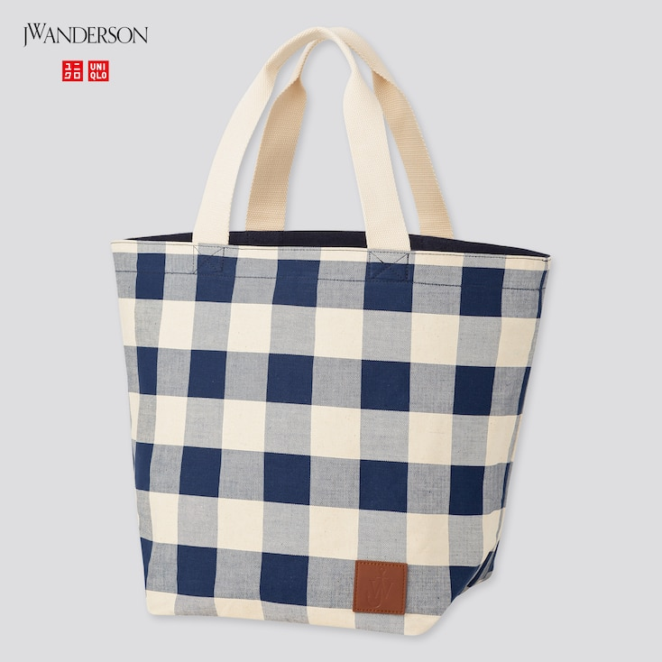 Reversible Tote Bag (Jw Anderson), Navy, Large
