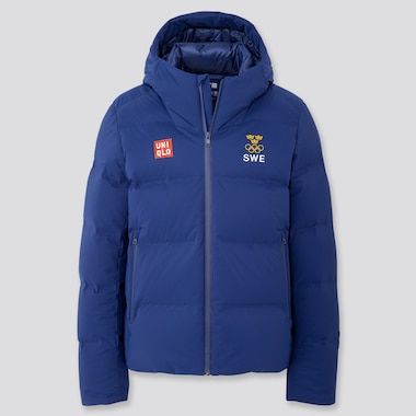 Sweden Olympic Seamless Down Parka