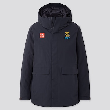 Sweden Olympic Hybrid Down Parka