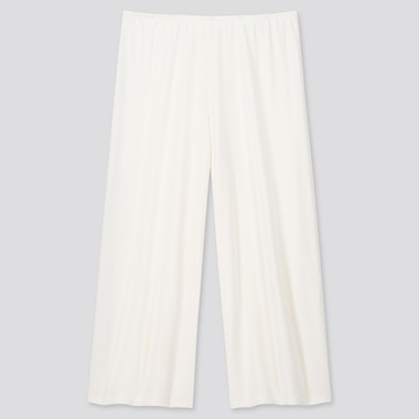 Women Airism Cropped Petti Pants, White, Medium