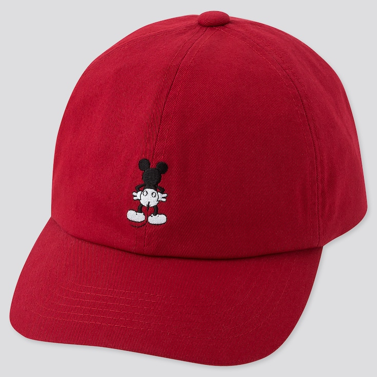 MICKEY ART CAP, RED, large