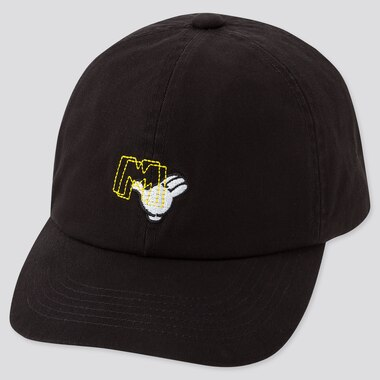 MICKEY ART CAP, BLACK, medium