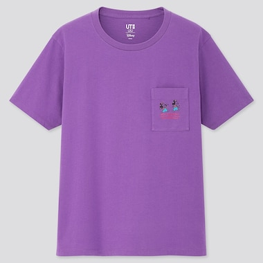 Women Fortune Disney Ut (Short-Sleeve Graphic T-Shirt), Purple, Medium