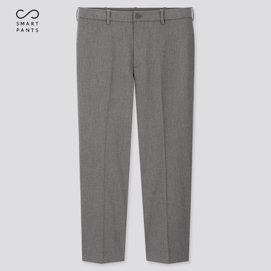 Men Ezy 2-Way Stretch Ankle-Length Pants (Online Exclusive), Gray, Medium