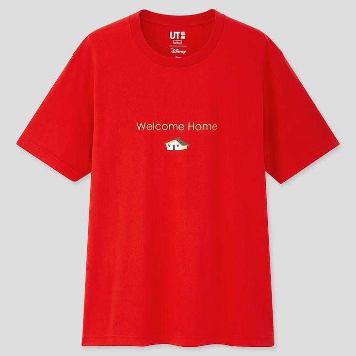 Fortune Disney Ut (Short-Sleeve Graphic T-Shirt), Red, Large