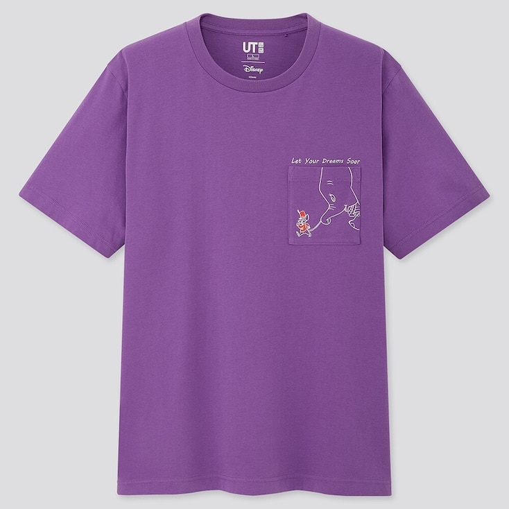 Fortune Disney Ut (Short-Sleeve Graphic T-Shirt), Purple, Large
