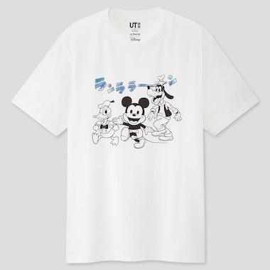 Herren UT bedrucktes T-Shirt Mickey Manga Art