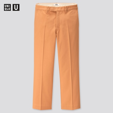 Women Uniqlo U Straight Ankle Trousers